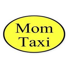 Mom taxi Decal