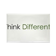 Think Different Rectangle Magnet