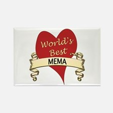 Cute Mema Rectangle Magnet