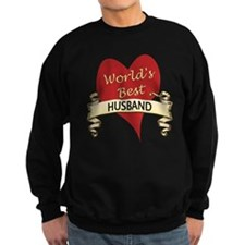 Cute Best husband world Sweatshirt