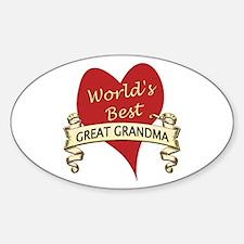 Cute Going to be a great grandma again Decal