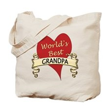 Cute Best grandpa Tote Bag