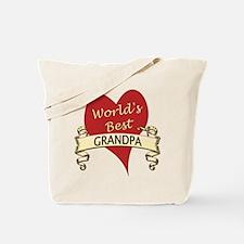 Cute Grandpa grandfather Tote Bag