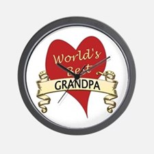 Cute Best grandpa Wall Clock