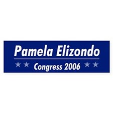 Elizondo 06 Bumper Bumper Sticker