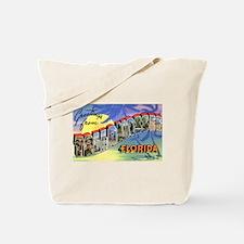 Tallahasse Florida Greetings Tote Bag