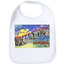 Tallahasse Florida Greetings Bib