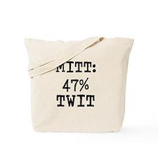 MITT: 47% TWIT - Tote Bag