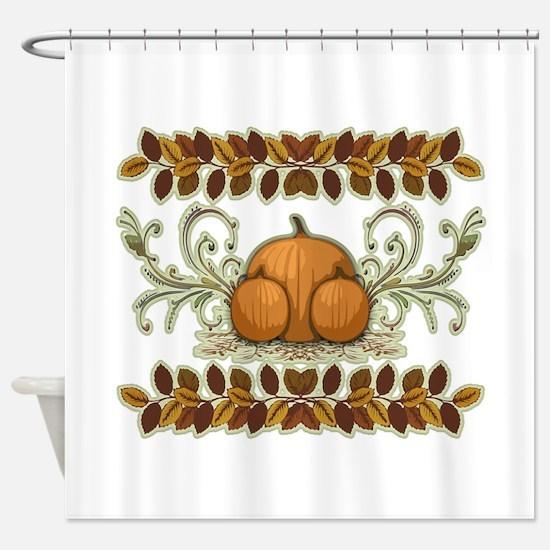 Autumn Bounty Shower Curtain