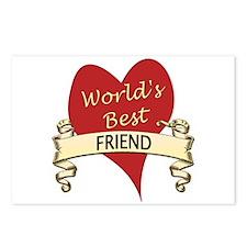 Cute Best friend Postcards (Package of 8)