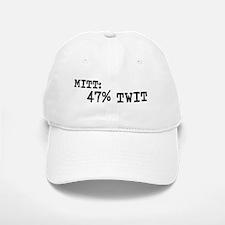 MITT IS 47% TWIT Baseball Baseball Cap