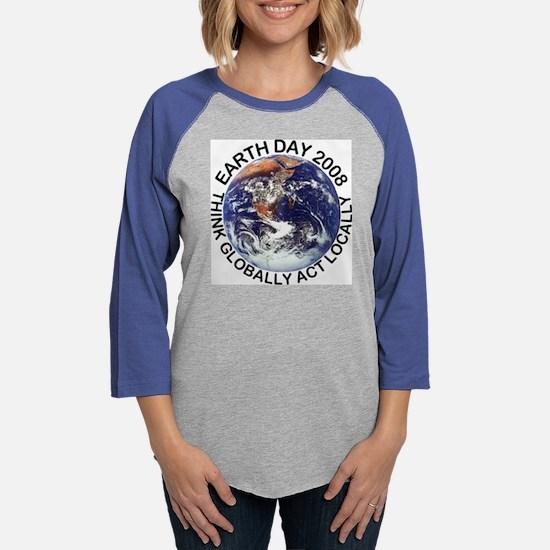 earth4108.png Womens Baseball Tee