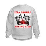 Team Thomas Racing Club Kids Sweatshirt