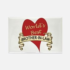 Cute Stepbrothers Rectangle Magnet