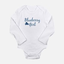 Blueberry Girl Infant Creeper Body Suit
