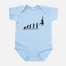 Basketball Evolution Jump Infant Bodysuit