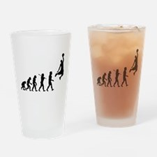 Basketball Evolution Jump Drinking Glass