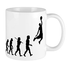 Basketball Evolution Jump Small Mug