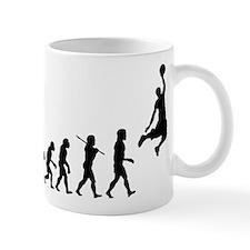 Basketball Evolution Jump Small Mugs