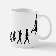 Basketball Evolution Jump Small Small Mug
