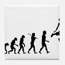 Basketball Evolution Jump Tile Coaster
