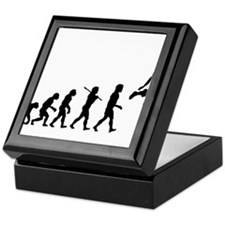 Basketball Evolution Jump Keepsake Box