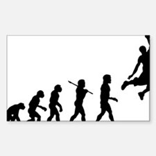 Basketball Evolution Jump Decal