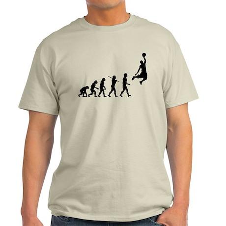 Basketball Evolution Jump Light T-Shirt