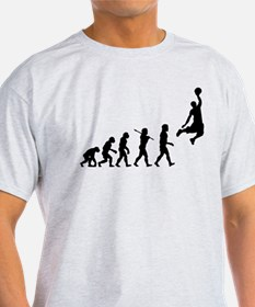 Basketball Evolution Jump T-Shirt