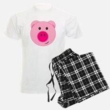 Cute Pink Pig Pajamas