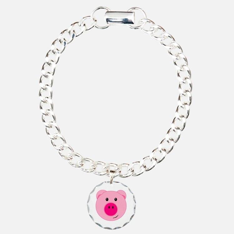 Cute Pink Pig Bracelet