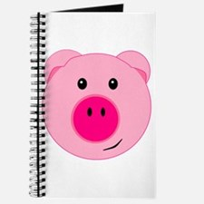 Cute Pink Pig Journal