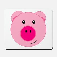 Cute Pink Pig Mousepad