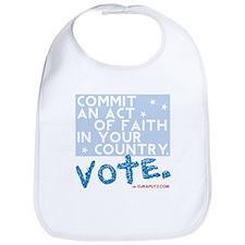 Commit an Act of Faith. Vote. by Euraputz Bib