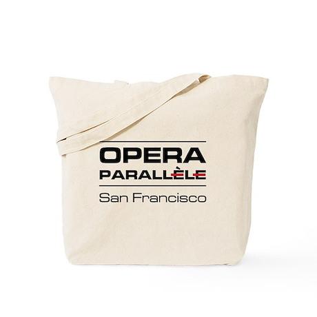 Opera Parallele Logo Stacked Tote Bag