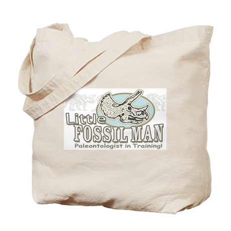 Little Fossil Man Tote Bag