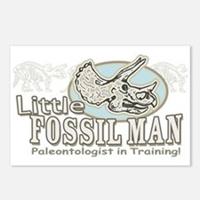 Little Fossil Man Postcards (Package of 8)