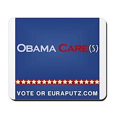 Obama Cares. by Euraputz Mousepad