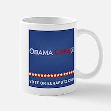 Obama Cares. by Euraputz Mug