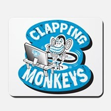 Clapping Monkey Mousepad