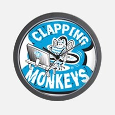 Clapping Monkey Wall Clock