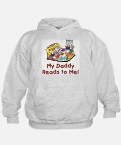 Daddy Reads Hoodie