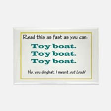 Toy boat Rectangle Magnet