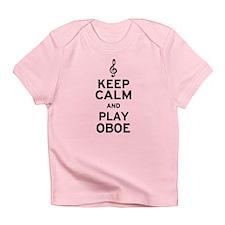 Keep Calm Oboe Infant T-Shirt