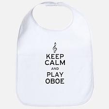 Keep Calm Oboe Bib