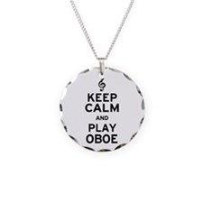 Keep Calm Oboe Necklace