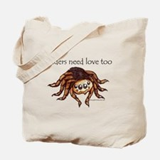 spiders need love too Tote Bag