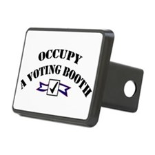 Occupy A Voting Booth Hitch Cover
