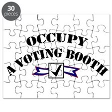 Occupy A Voting Booth Puzzle