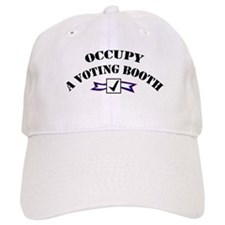 Occupy A Voting Booth Baseball Cap